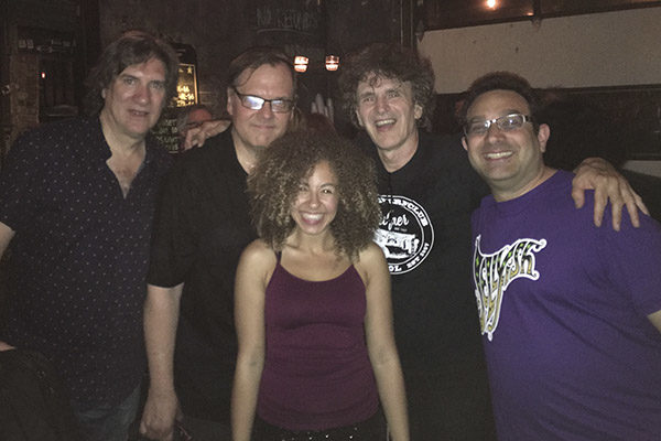 Sal Medina (Milk and Cookies),  Dennis Diken (The Smithereens), Dave Rave, Aaron and Haliee Rose